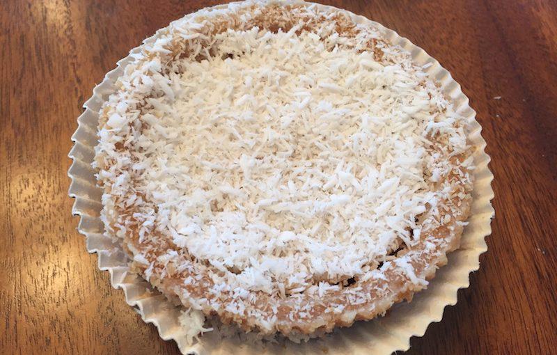 Hail Merry tart: Coconut Vanilla Créme